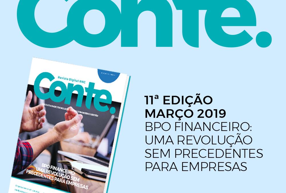A 11ª edição da Revista Conte está sensacional, leia e comprove!